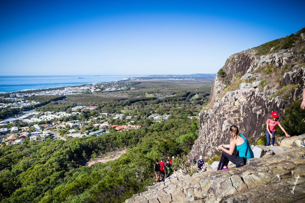 View from Mt Coolum